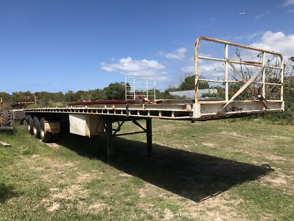 Freighter flat top trailer  Kurnell Sutherland Area Preview