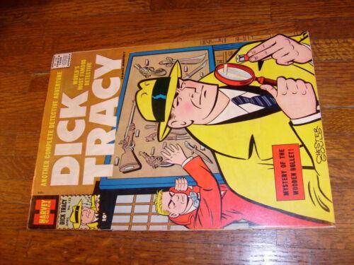 """DICK TRACY #122, HARVEY COMIC, """"VF+"""""""