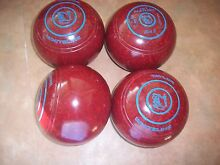 Thomas Taylor WHITELINE Lawn Bowls Size 3H WB21 Red Speckled VGC Surfers Paradise Gold Coast City Preview