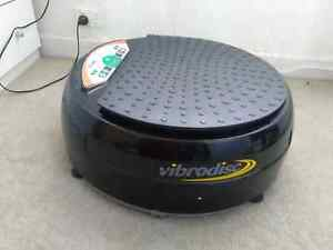 Vibrodisc  vibrate exercise machine Bedford Park Mitcham Area Preview