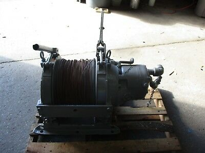 Chicago Pneumatic 2000lb Air Winch 1114957j Type10ps Used