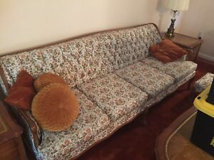 Sofa with chair and foot rest