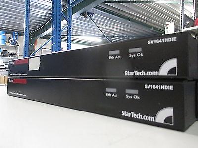 StarTech SV1641HDIE 16 Port Rack Mount USB PS/2 Digital IP KVM Switch - EXCL PSU