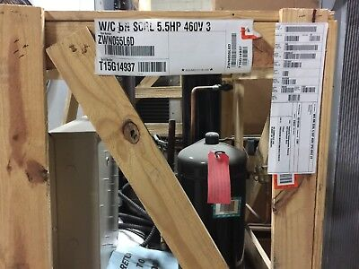 Overstock Heatcraft Water Cooled Condensing Unit Swn055l6d 4603ph Lt R404a