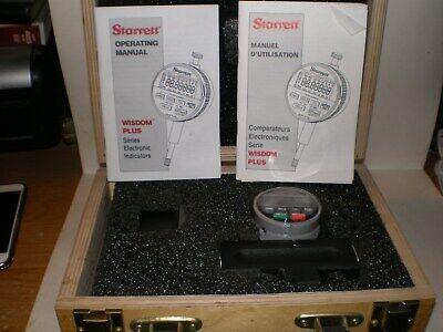 Starrett 914515- Wisdom Plus Electronic Digital Indicator Brand New In Wood Box
