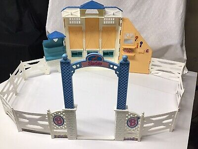 Vintage 1998 Barbie Riding Stable Corral Play Set Only ( No Accessories)