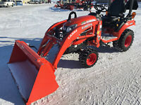 Kubota BX2680 Tractor with Loader Brandon Brandon Area Preview