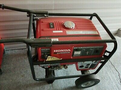 Honda Em 5000 Generator Barely Used