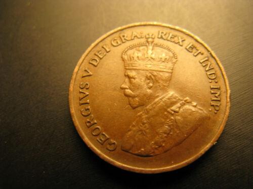 Canada 1936 High Grade Beautiful Small Cent Penny.