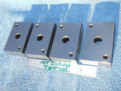 1-2-3 Blocks 4 Thru Hole Xlnt Toolmaker Machinist Precise Grind Blocks Wow