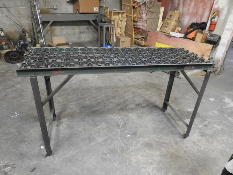 Skatewheel Roller Conveyer Table 6