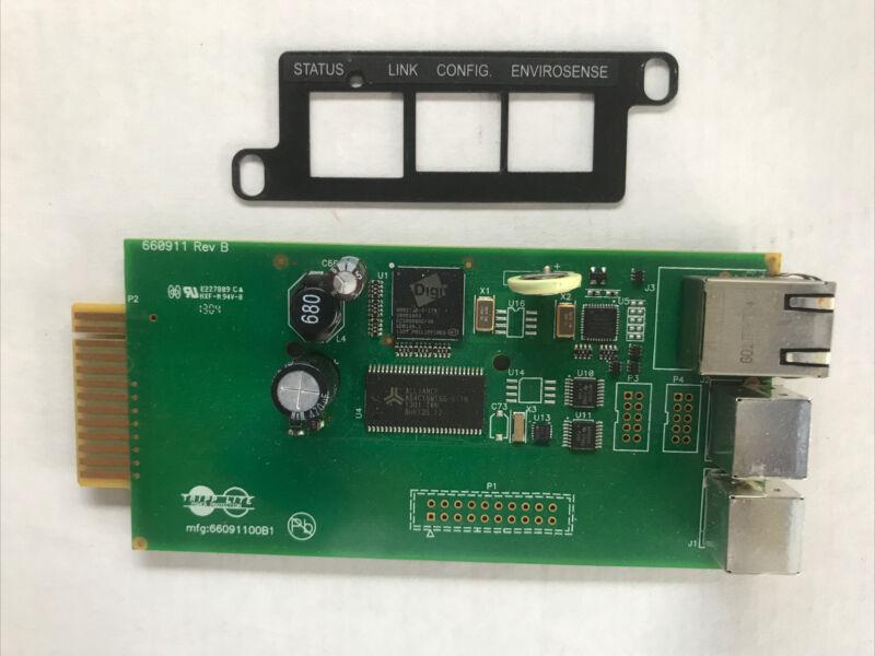 Tripp Lite UPS SNMP Web Network Management SNMPWEBCARD Card 660911