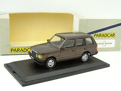 Paradcar 1/43 Range Rover P38 1995 Marron