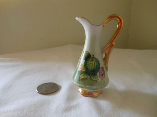 Miniature Porceliian Pitcher