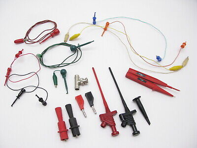 Oscilloscope Test Leads Jumpers Probe Cables Mixed Lot