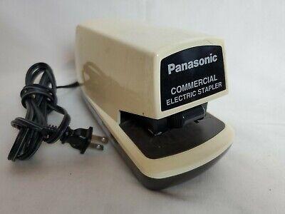 Panasonic Commercial Electric Stapler Desk Top Automatic Standard Staple As-300n