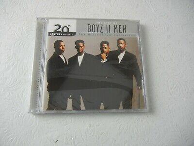 The Best of Boyz II Men The Millennium Collection CD