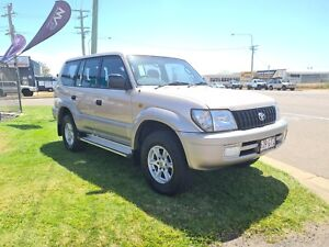 2002 Toyota Prado GXL 3.0Lt Turbo Diesel 4x4 Auto - 8 Seater!  Garbutt Townsville City Preview