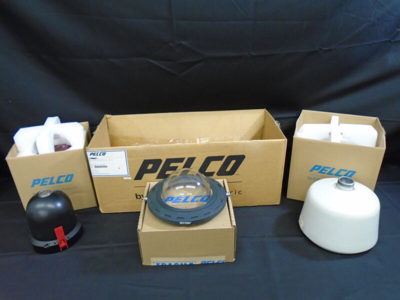 Pelco DD4CBW35 Spectra IV w BB4-PG-E Housing BB4HD-PG-E Back Box