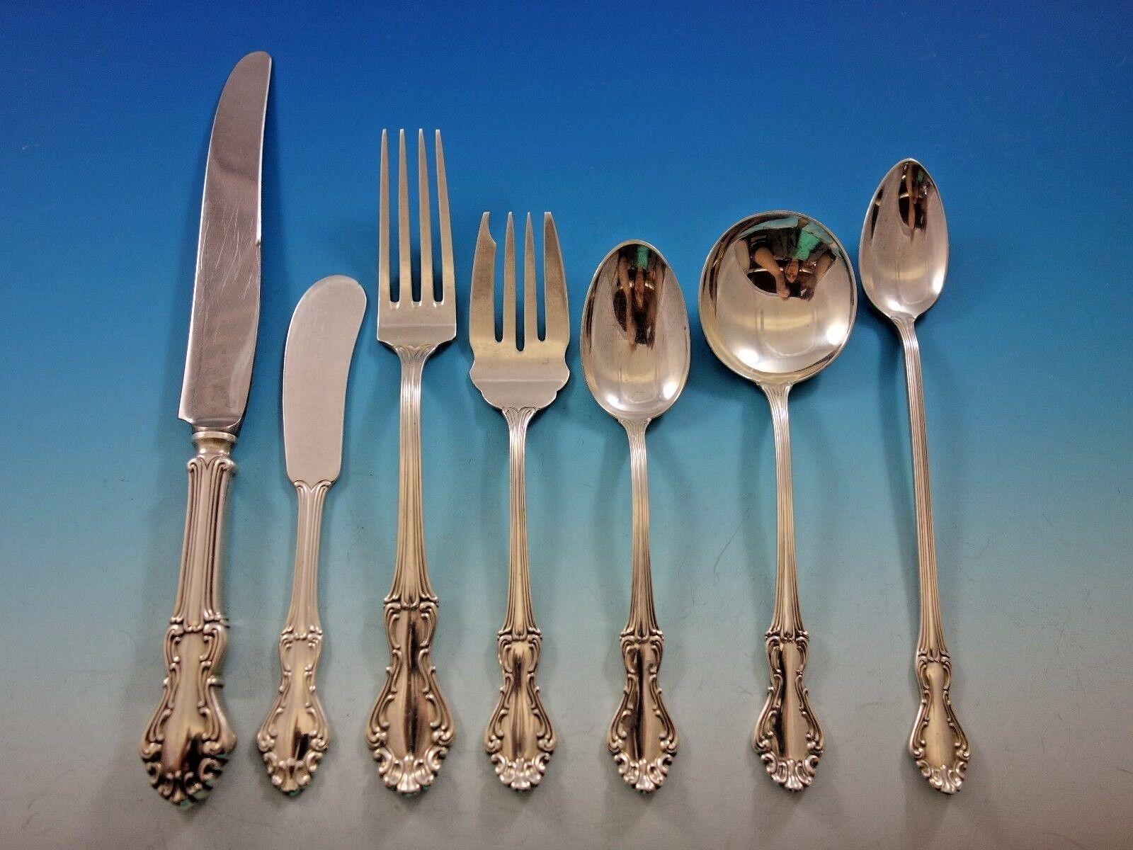 """Princess Elizabeth • National Sterling Silver Salad Fork 6 1//8/"""" No Monogram"""