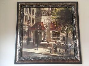 Framed pictures and paintings
