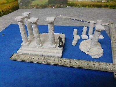 1:72 -1:87 Diorama-Zubehör: Säulen, ägyptisch o. griechisch mit - Griechische Zubehör