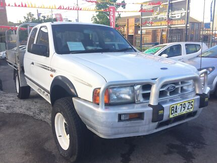 2004 Ford Courier PE XL x-cab manual 4cyl turbo diesel