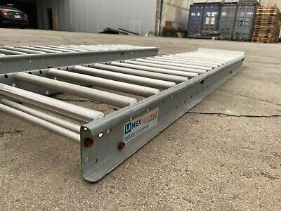 Unex Silver Span-track Roller Flow Gravity Racking 12 X 55