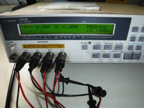 Agilent / HP 4263B 100 Hz to 100 kHz LCR Meter