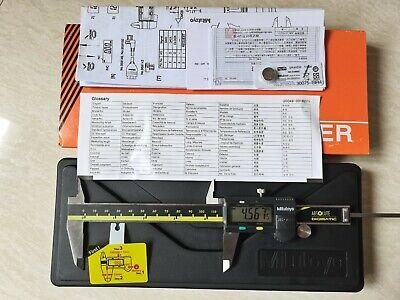 Mitutoyo Japan 500-196-30 150mm6 Absolute Digital Digimatic Vernier Caliper