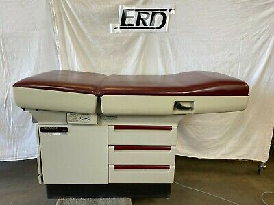 Midmark 404 Exam Table Red Top