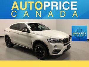 2016 BMW X6 xDrive35i NAVIGATION|PANOROOF|LEATHER
