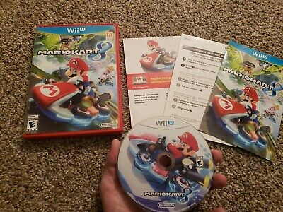 Mario Kart 8 - Nintendo Wii U - Good Condition - Complete