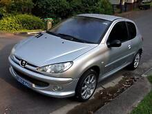 2004 Peugeot 206 Hatchback New Lambton Heights Newcastle Area Preview