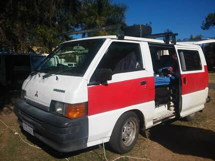 Van Mitsubishi Express (ready to live inside) lpg and petrol Brisbane City Brisbane North West Preview