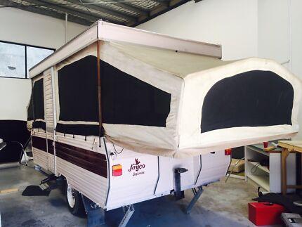 Jayco swan camper van