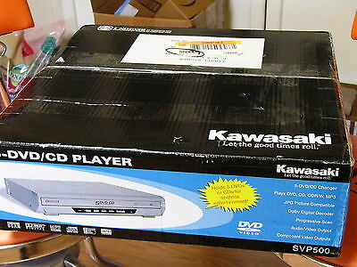 NEW Kawasaki SVP500 5 Disc DVD CD Changer Player Multi Audio Video Compact MP3