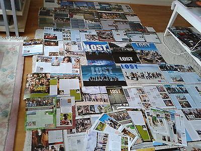 Riesige  Sammlung   Berichte/Clippings  TV Serie Lost  Matthew Fox, Jorge Garcia