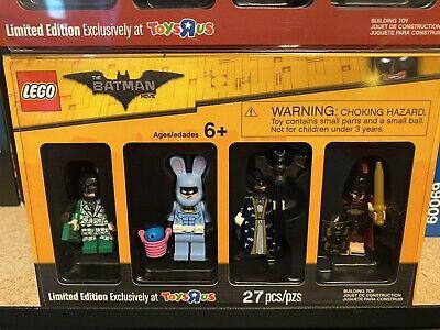 LEGO Batman Movie Bricktober Mini figure 4 Pack Toys R Us Exclusive 5004939 New