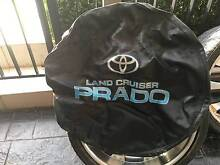 TOYOTA LANDCRUISER PRADO SPARE WHEEL COVER Concord Canada Bay Area Preview