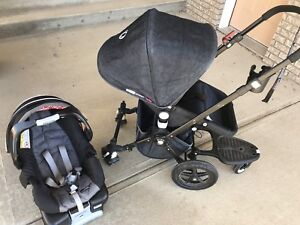 Bugaboo Cameleon Stroller with Graco Car seat and Accessories