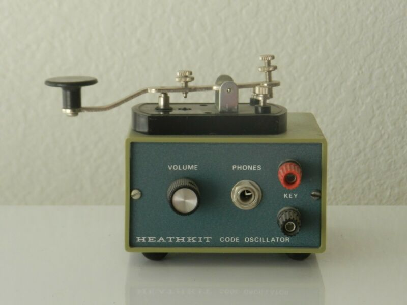 Heathkit CODE PRACTICE OSCILLATOR  and KEY