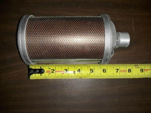 "324170 Alemite NEW pneumatic muffler, 3/4"" NPT(M)"