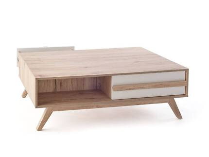 MOCKA JESSE COFFEE TABLE - FULLY ASSEMBLED - SHOWROOM