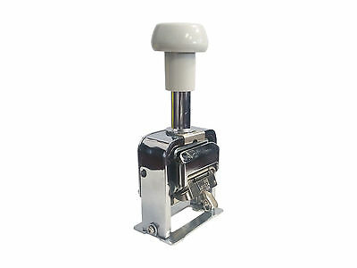Automatic Numbering Machine Hand 7 Digits Model 507 Manual Numbering