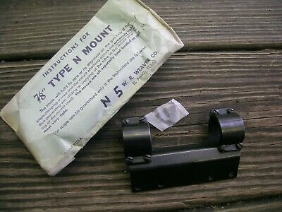 Weaver Type N N5 Scope Mount 7/8