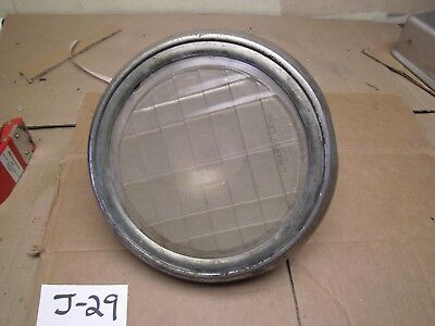 VINTAGE ANTIQUE CAR TRUCK LIBERTY LENS MACBETH-EVANS 4769 GLASS BRASS HEADLIGHT for sale  Shipping to South Africa