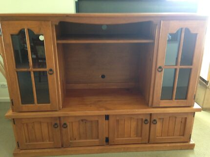 TV display cabinet on wheels Warwick Southern Downs Preview