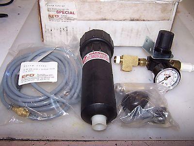 NEW EPD 6 OZ RESEVOIR W/ 100 PSI REGULATOR 10FT AIR HOSE & SHUTOFF VALVE 5192-H ()