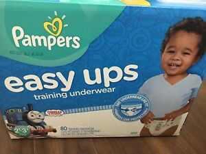 pampers thomas easy ups diapers pull ups sealed